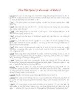 70 câu hỏi về Quản lý Nhà nước QLNN về kinh tế (có đáp án)