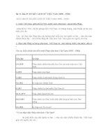 Sử 11 BÀI: SƠ KẾT LỊCH SỬ VIỆT NAM