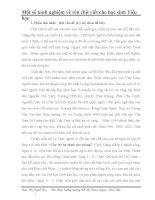 SKKN Một số kinh nghiệm về rèn chữ viết cho học sinh tiểu học