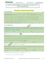 độ lệch pha - phương pháp giản đồ vectơ - bài toán hộp đen