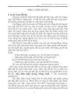 câu điều kiện trong tiếng anh ( the conditional sentences)