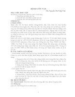 Bài giảng về bệnh uốn ván