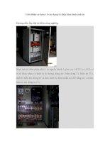 Giới thiệu việc lắp đặt tủ điện công nghiệp