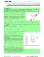mẫu nguyên tử bo. quang phổ nguyên tử hydro