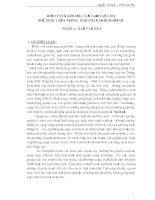SKKN Rèn luyện kỹ năng tập làm văn cho học sinh lớp 6 trong dạy phân môn ngữ văn