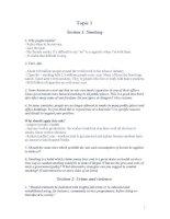CÁC TOPIC THI NÓI VÀ BÀI LUẬN MẪU TASK 2 -ÔN THI B1,B2,C1 CHUẨN CHÂU ÂU