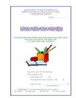 skkn trò chơi toán lớp 1   2012 2013