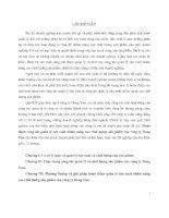 luận văn hoàn thiện công tác quản lý sản xuất nhằm nâng cao chất lượng sản phẩm của công ty dong yun - luận văn, đồ án, luan van, do an