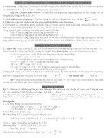 Tài liệu ôn tập học kỳ vật lý lớp 10