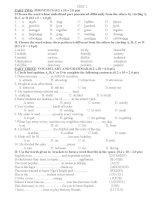 Bộ đề bồi dưỡng học sinh giỏi lớp 7 chọn lọc