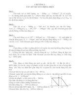 Bài tập truyền động điện (có lời giải)