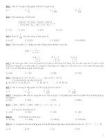 100 Bài toán trắc nghiệm bồi dưỡng Toán lớp 5