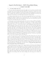 SKKN Dùng phương pháp lượng giác hóa để giải một số bài toán đại số