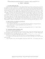 SKKN: Phương pháp giải bài tập vật lý 12 - dao động cơ, sóng âm