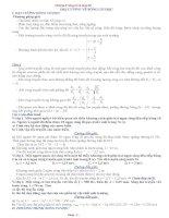 lý thuyết và bài tập sóng cơ có đáp án