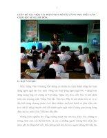 skkn một vài biện pháp rèn kĩ năng đọc diễn cảm cho học sinh lớp bốn