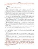 Câu hỏi ôn thi công chức ( có lời giải)