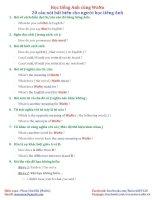 20 câu nói bất biến cho người học tiếng anh