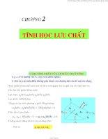 bài giảng cơ học chất lỏng thủy tinh