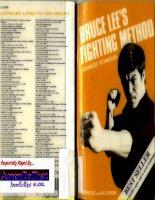 Bruce lee fighting method volume 4