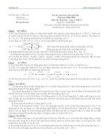 Tuyển tập 30 đề thi học sinh giỏi Hóa 9 có lời giải chi tiết.