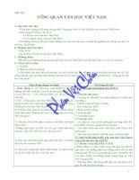 Giáo án ngữ văn 10 cơ bản
