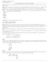 bài tập vật lý lớp 10 có giải