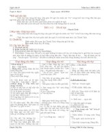 Giáo án ngữ văn 8 đầy đủ chi tiết