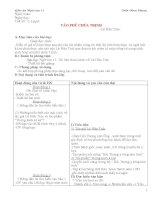 Giáo án ngữ văn cơ bản lớp 11