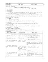 Giáo án ngữ văn 9 soạn 3 cột đầy đủ