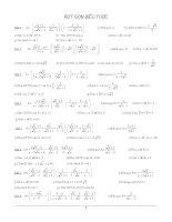 550 Bài tập Toán ôn thi vào Lớp 10 2014