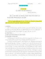 tài liệu luyện thi môn văn