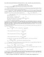 Giải nhanh bài toán Hóa Học bằng công thức