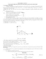 Ứng dụng phương pháp đồ thị trong giải toán Hóa Học