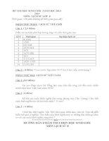 bộ đề và đáp án thi học sinh giỏi môn lịch sử lớp 8 tham khảo