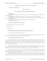 Hồ sơ dự thi dạy học theo chủ đề tích hợp (giải ba)  Vật lí 9  Sử dụng và tiết kiệm điện năng