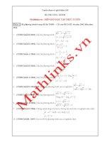 Tuyển chọn 100 Hệ phương trình diễn đàn Mathlinks.vn