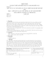 Giáo án lịch sử lớp 9 chuẩn (cả năm)