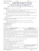 giáo án địa lí cơ bản lớp 11