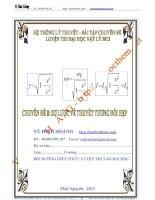 hệ thống lí thuyết và bài tập chuyên đề sơ lược về thuyết tương đối hẹp