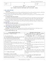 giáo án môn lịch sử lớp 12 chi tiết