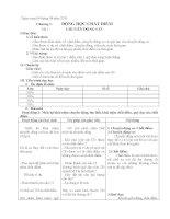 Giáo án vật lý 10 (chuẩn 3 cột)
