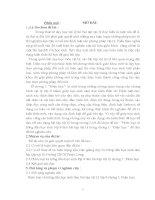 Chuyên đề Phân loại và hướng dẫn học sinh lớp 9 làm bài tập vật lí chương I Điện học