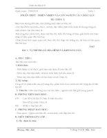 Giáo án cơ bản môn địa lí lớp 8 chuẩn
