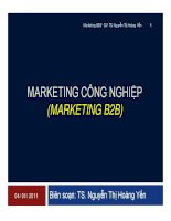 giáo trình marketing công nghiệp