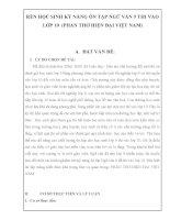 skkn rèn học SINH kỹ NĂNG ôn tập NGỮ văn 9 THI vào lớp 10  (PHẦN THƠ HIỆN đại VIỆT NAM)