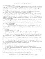 Tài liệu ôn thi lý thuyết nguyên lý kế toán đại học Thương Mại