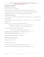 tài liệu ôn thi học sinh giỏi môn vật lý thcs