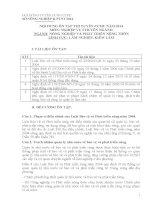 tài liệu ôn thi tuyển công chức  2014  lĩnh vực lâm nghiệp -kiểm lâm