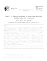 naser and nuseibeh - 2003 - quality of financial reporting - evidence from the listed saudi nonfinancial companies
